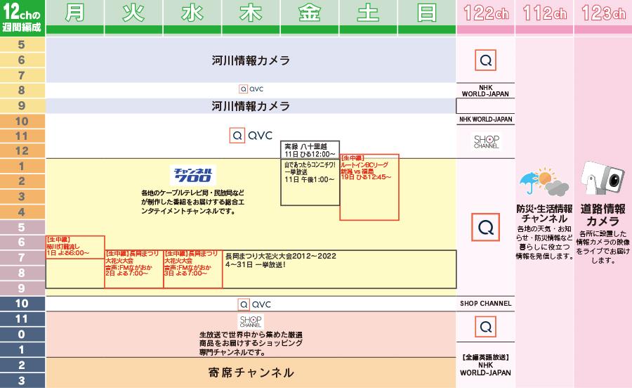 Jp の qvc 表 今日 番組 今日の番組表[東京]
