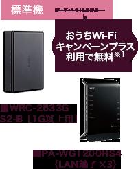 ■PA-WG1200HS4(LAN端子×3)標準機400円
